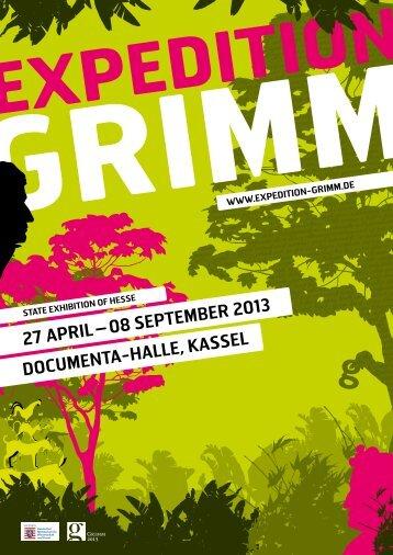 08 September 2013 DOCUmeNtA-HAlle, KASSel - Expedition Grimm