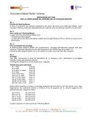Disposizioni Ranking Master 2007-08 - Associazione Italiana Master ...