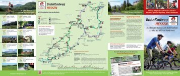 245 km von Hanau nach Bad Hersfeld - Bahnradweg Hessen