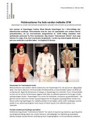 Pelskreationer fra hele verden indledte CFW - Kopenhagen Fur