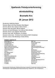 Bromølle SP udstilling 2012 - Kopenhagen Fur
