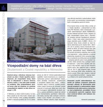 Vícepodlažní domy na bázi dřeva - zkušenosti z České ... - Fermacell