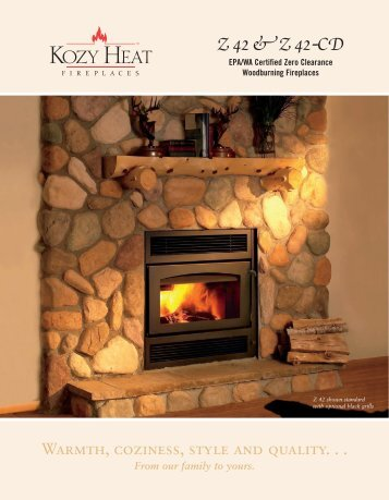 Z 42 & Z 42nCD - Ashwood Hearth & Home Energy & Fireplace