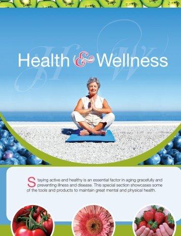 37 Health & Wellness Supplement - Senior Living Magazine