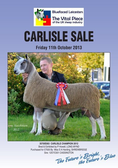 Catalogue - Bluefaced Leicester Sheep Breeders Association