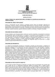 Área: Informática (com ênfase em Redes de Computadores