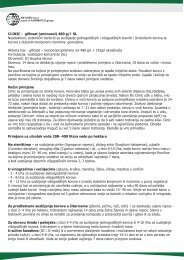 CLINIC - glifosat (aminosol) 480 g/l SL Neselektivni ... - AM AGRO doo