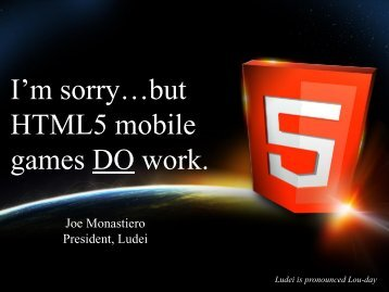 Slides - HTML5 Developer Conference