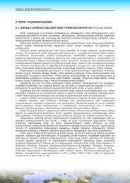 2. wody powierzchniowe - Wojewódzki Inspektorat Ochrony ...