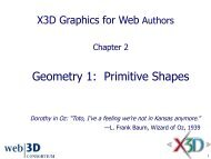 Primitive Shapes - Extensible 3D Graphics for Web Authors