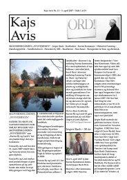 Jesper Bach – 50 år - KAJ´s AVIS