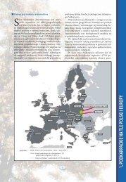 Podkarpackie na tle Polski i Europy