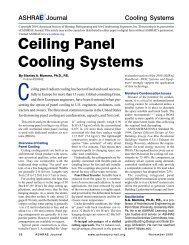 Ceiling Panel Cooling Systems - Dedicated Outdoor Air Systems ...