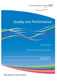 Quality and Performance May 2011 - Library