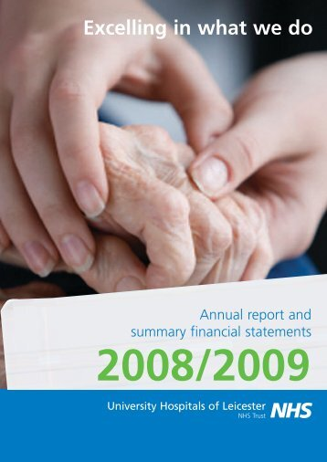 UHL Annual Report 2008-09 - Library