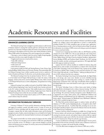 PDF of Academic Facilities and Resources chapter
