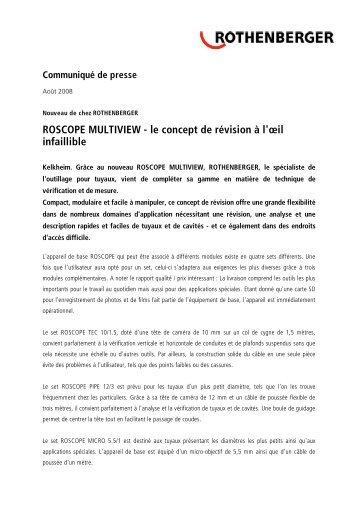 ROSCOPE MULTIVIEW - le concept de révision à l ... - Rothenberger