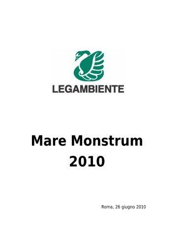Mare Monstrum 2010 - Legambiente Verona