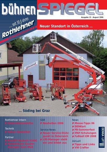 Neuheit 06 - Rothlehner Arbeitsbühnen