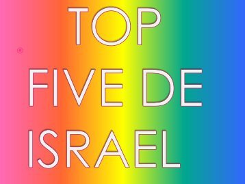 TOP FIVE DE ISRAEL - Noam
