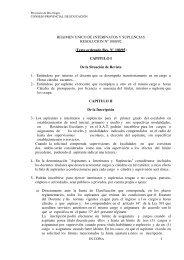 1 REGIMEN UNICO DE INTERINATOS Y SUPLENCIAS ... - UnTER