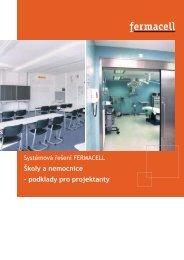 Školy a nemocnice - podklady pro projektanty - Fermacell