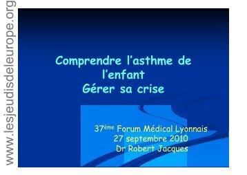 Asthme et - Les Jeudis de l'Europe