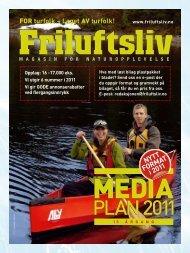 PLAN2011 PLAN2011 - Friluftsliv
