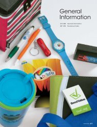 General Information PDF - Norwood Promotional Products