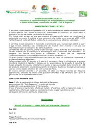 Workshop finale - Parco del Delta del Po