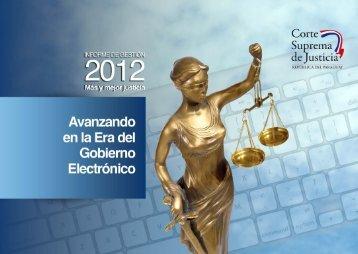 Bajar Informe 2012 - Poder Judicial