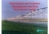 Hydrological and Irrigation Hydrological and Irrigation Management ...