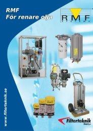 RMF För renare olja - Filterteknik