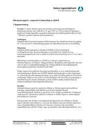 Ritalin depotkapsel - Statens legemiddelverk