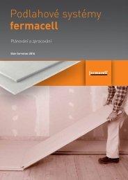 Podlahové systémy FERMACELL - Plánování a zpracování
