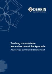 Teaching students from low socioeconomic ... - Lowses.edu.au