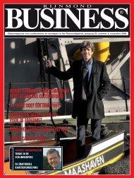 Rijnmond Business, jrg 25/8, november 2008 (pdf) - Prins Bernhard ...