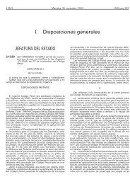 Ley Orgánica 15/2003 - BOE.es