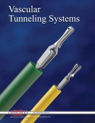 Vascular Tunneling Systems - Scanlan International