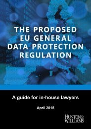 Hunton_Williams_EU_Regulation_Guide_Overview
