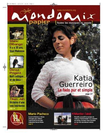 Katia Guerreiro - Mondomix