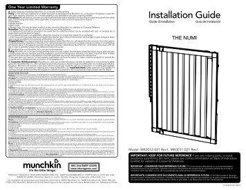 Installation Guide - Babygates.com
