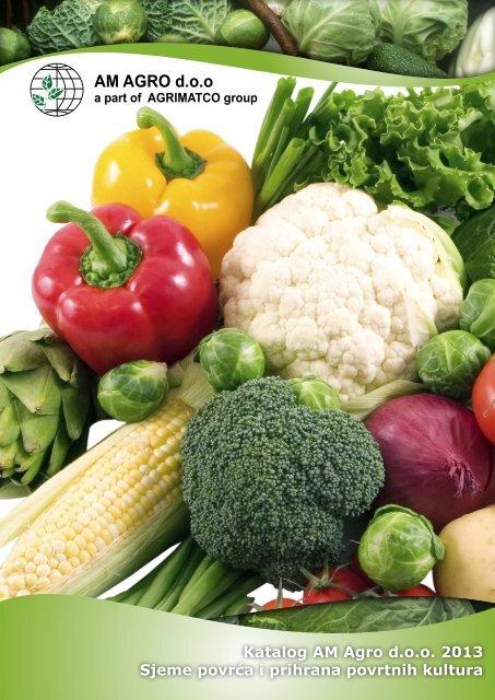 sjeme povrća i prihrana povrtnih kultura - AM AGRO doo