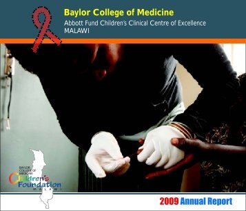 Malawi Annual Report 2009-2010 - Baylor International Pediatric ...