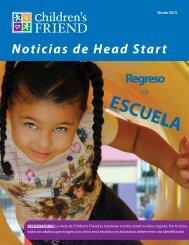 Noticias de Head Start - Children's Friend