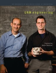 UNM engineering - School of Engineering - University of New Mexico