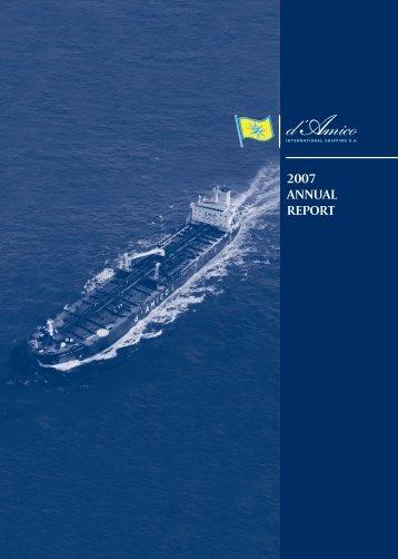 Financial report - Investor Relations - Tanker