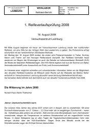 1. Reifeverlaufsprüfung 2008