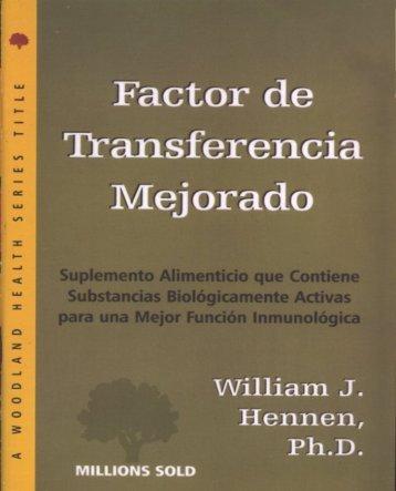Factor de Transferencia Mejorado - Colombia Lo Mejor