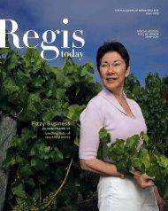 Fizzy Business - Regis College